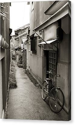 Home In Kyoto Canvas Print by Jessica Rose