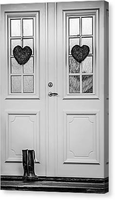 Home Is Where The Heart Is Canvas Print by Maggie Terlecki