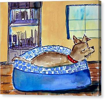 Home Canvas Print by M L Borges