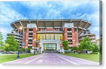 Home Of Champions -- Bryant-denny Stadium Canvas Print by Stephen Stookey