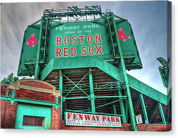 Home Of The Boston Red Sox Canvas Print by Randy Dyer