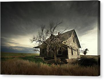 Home On The Range Canvas Print by Brian Gustafson