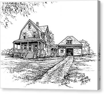 Home Place Canvas Print by Greg Joens
