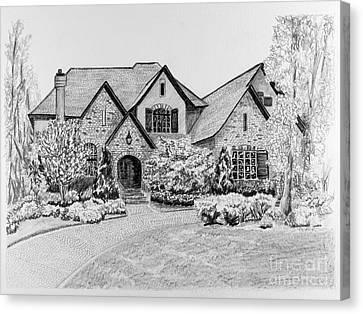 Home Portrait 2043 Canvas Print by Robert Yaeger