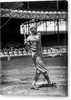 Home Run Babe Ruth Canvas Print