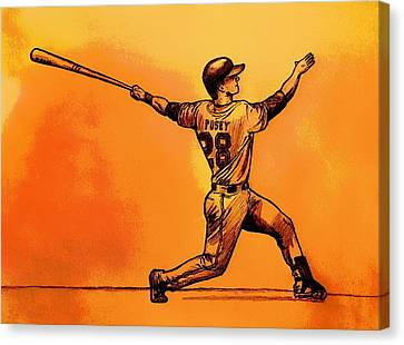 Home Run Canvas Print by Jason Page
