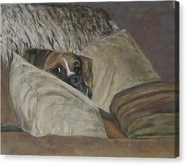 Home So Soon Canvas Print by Elizabeth Ellis