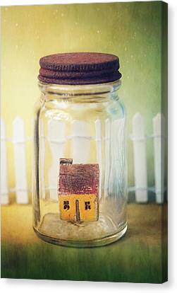 Home Sweet Home Canvas Print by Amy Weiss