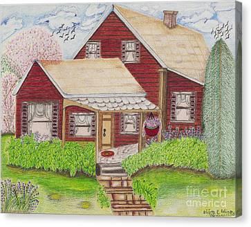 Home-sweet-home Canvas Print