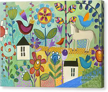 Home Sweet Home Canvas Print by Carla Bank