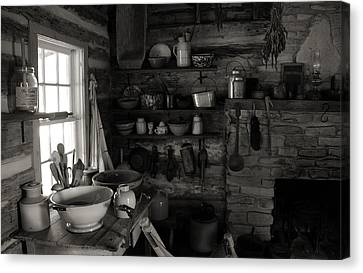 Home Sweet Home Kitchen Canvas Print by Joanne Coyle