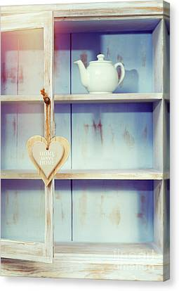 Home Sweet Home Sign Canvas Print by Amanda Elwell