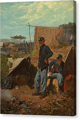 Home, Sweet Home  Canvas Print by Winslow Homer