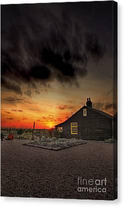House Canvas Print - Home To Derek Jarman by Lee-Anne Rafferty-Evans