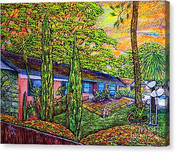 Home Canvas Print by Viktor Lazarev