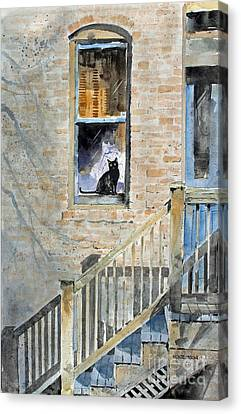 Homecoming Canvas Print by Monte Toon