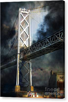 Homeless By The Bay 7d7748 Vertical Canvas Print by Wingsdomain Art and Photography