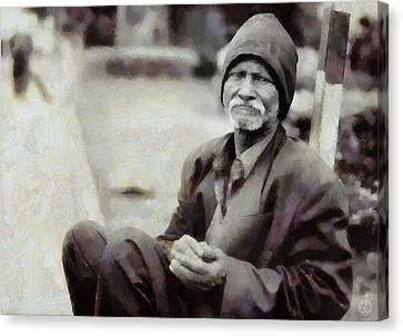 Homeless II Canvas Print by Gun Legler