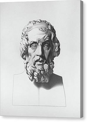 Homer After Charles Bargue Canvas Print