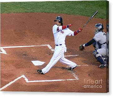 Homerun Swing Canvas Print