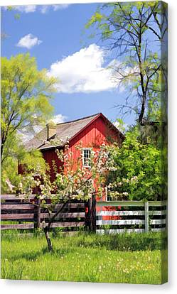 Homestead At Old World Wisconsin Canvas Print