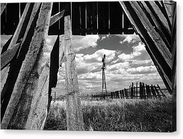 Homestead Canvas Print by Bob Christopher