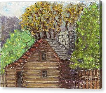 Homestead Canvas Print by Laurie Morgan
