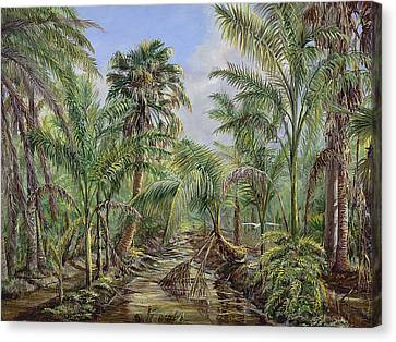 Homestead Tree Farm Canvas Print