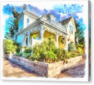 Home,sweet Home Canvas Print
