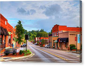 Hometown America Canvas Print