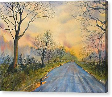 Homeward Bound For Kilham Canvas Print