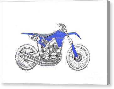 Honda Mud Plugger Canvas Print