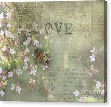 Honey Love Canvas Print