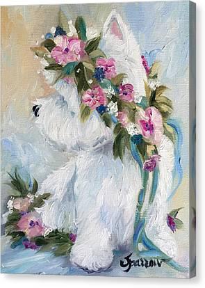 Honey Canvas Print by Mary Sparrow
