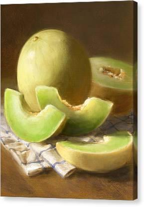 Honeydew Melons Canvas Print by Robert Papp