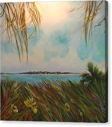 Honeymoon Island Canvas Print by Michele Hollister - for Nancy Asbell