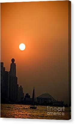 Hong Kong Coast Canvas Print by Ray Laskowitz - Printscapes