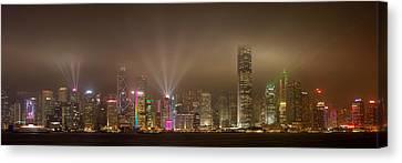 Hong Kong Canvas Print - Hong Kong Island by Daniel Murphy