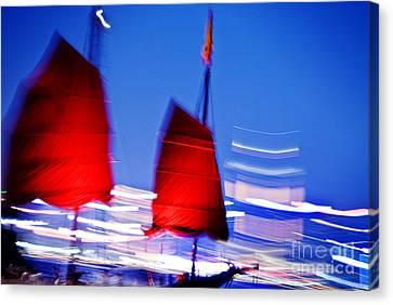 Tsui Canvas Print - Hong Kong Lights by Ray Laskowitz - Printscapes