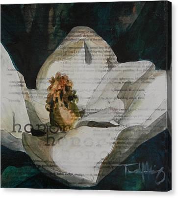 Honor - Magnolia Canvas Print by Trish McKinney