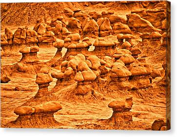 Hoodoos Canvas Print by Brent Sisson