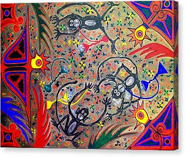 Hookah Monkeys - Jinga Monkeys Series Canvas Print