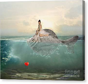 Hooked Canvas Print by Juli Scalzi