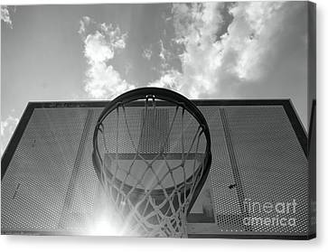 Basketball Collection Canvas Print - Hoop Dreams by John S