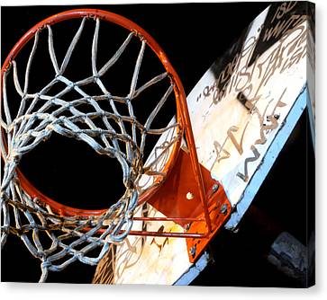 Hoop Canvas Print by Mike Lindwasser Photography