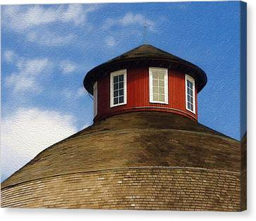 Canvas Print featuring the photograph Hoosier Cupola by Sandy MacGowan