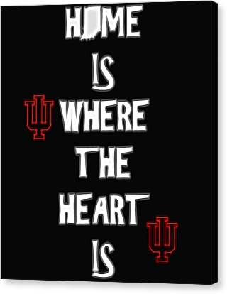 Hoosier For Life Canvas Print by Dan Sproul