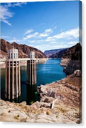 Hoover Dam Canvas Print by Daniel Heine