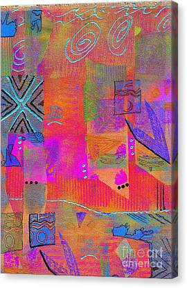 Canvas Print featuring the mixed media Hope And Dreams by Angela L Walker