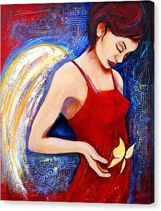 Hope Canvas Print by Claudia Fuenzalida Johns